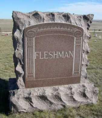 FLESHMAN, FAMILLY - Dawes County, Nebraska | FAMILLY FLESHMAN - Nebraska Gravestone Photos