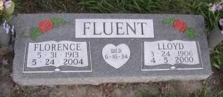 FLUENT, FLORENCE - Dawes County, Nebraska | FLORENCE FLUENT - Nebraska Gravestone Photos