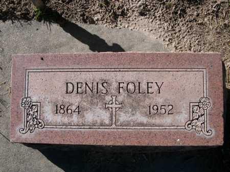 FOLEY, DENIS - Dawes County, Nebraska | DENIS FOLEY - Nebraska Gravestone Photos