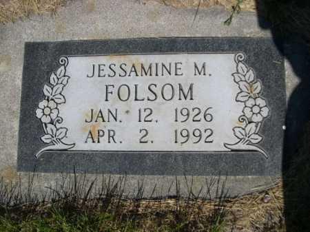 FOLSOM, JESSAMINE M. - Dawes County, Nebraska | JESSAMINE M. FOLSOM - Nebraska Gravestone Photos