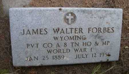 FORBES, JAMES WALTER - Dawes County, Nebraska | JAMES WALTER FORBES - Nebraska Gravestone Photos