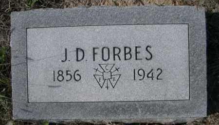 FORBES, J;.D. - Dawes County, Nebraska | J;.D. FORBES - Nebraska Gravestone Photos