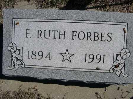 FORBES, R. RUTH - Dawes County, Nebraska | R. RUTH FORBES - Nebraska Gravestone Photos