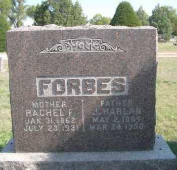 FORBES, J. HARLAN - Dawes County, Nebraska | J. HARLAN FORBES - Nebraska Gravestone Photos