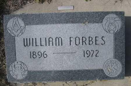 FORBES, WILLIAM - Dawes County, Nebraska   WILLIAM FORBES - Nebraska Gravestone Photos