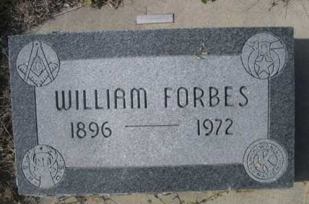 FORBES, WILLIAM - Dawes County, Nebraska | WILLIAM FORBES - Nebraska Gravestone Photos
