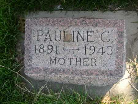 FORD, PAULINE C. - Dawes County, Nebraska | PAULINE C. FORD - Nebraska Gravestone Photos