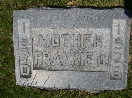 FOSTER, FRANKIE D. - Dawes County, Nebraska | FRANKIE D. FOSTER - Nebraska Gravestone Photos