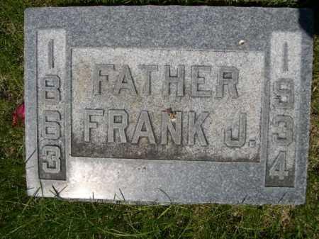 FOSTER, FRANK J. - Dawes County, Nebraska | FRANK J. FOSTER - Nebraska Gravestone Photos