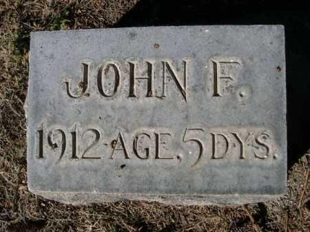 FOSTER, JOHN F. - Dawes County, Nebraska | JOHN F. FOSTER - Nebraska Gravestone Photos