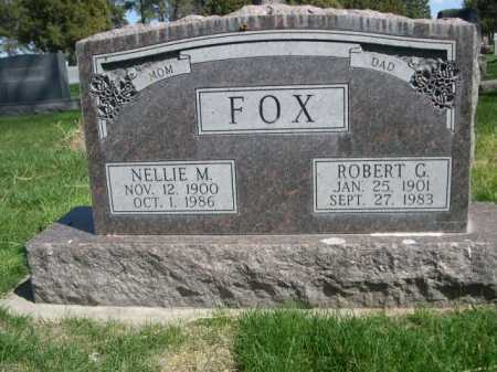 FOX, ROBERT G. - Dawes County, Nebraska | ROBERT G. FOX - Nebraska Gravestone Photos