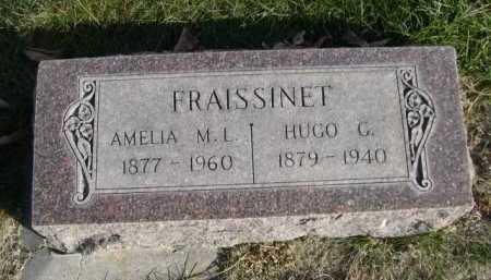 FRAISSINET, HUGO G. - Dawes County, Nebraska | HUGO G. FRAISSINET - Nebraska Gravestone Photos