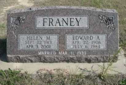 FRANEY, EDWARD A. - Dawes County, Nebraska | EDWARD A. FRANEY - Nebraska Gravestone Photos