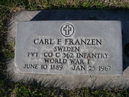 FRANZEN, CARL F. - Dawes County, Nebraska | CARL F. FRANZEN - Nebraska Gravestone Photos