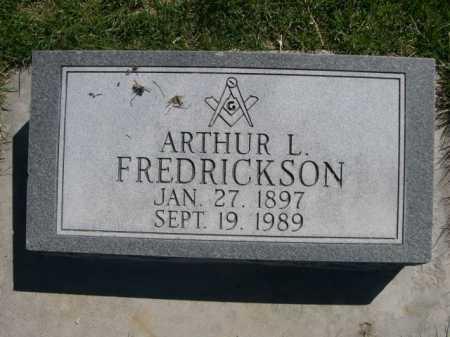 FREDRICKSON, ARTHUR L. - Dawes County, Nebraska | ARTHUR L. FREDRICKSON - Nebraska Gravestone Photos