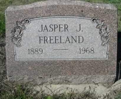 FREELAND, JASPER J. - Dawes County, Nebraska | JASPER J. FREELAND - Nebraska Gravestone Photos