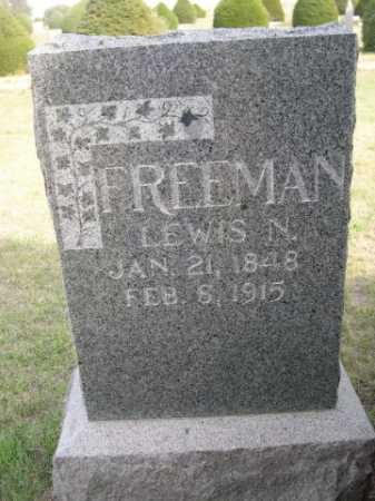 FREEMAN, LEWIS N. - Dawes County, Nebraska | LEWIS N. FREEMAN - Nebraska Gravestone Photos