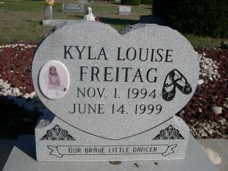 FREITAG, KYLA LOUISE - Dawes County, Nebraska | KYLA LOUISE FREITAG - Nebraska Gravestone Photos