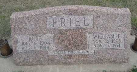 FRIEL, ROSE - Dawes County, Nebraska | ROSE FRIEL - Nebraska Gravestone Photos