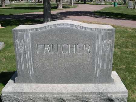 FRITCHER, FAMILY - Dawes County, Nebraska   FAMILY FRITCHER - Nebraska Gravestone Photos