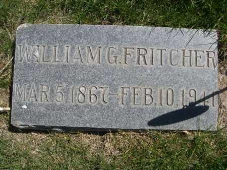 FRITCHER, WILLIAM G. - Dawes County, Nebraska   WILLIAM G. FRITCHER - Nebraska Gravestone Photos