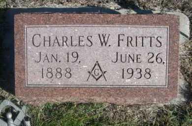 FRITTS, CHARLES W. - Dawes County, Nebraska | CHARLES W. FRITTS - Nebraska Gravestone Photos