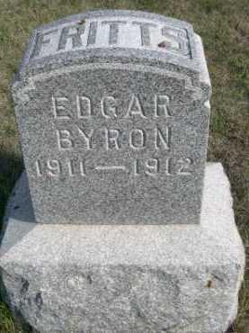 FRITTS, EDGAR BRYON - Dawes County, Nebraska | EDGAR BRYON FRITTS - Nebraska Gravestone Photos