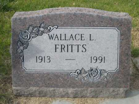 FRITTS, WALLACE L. - Dawes County, Nebraska | WALLACE L. FRITTS - Nebraska Gravestone Photos
