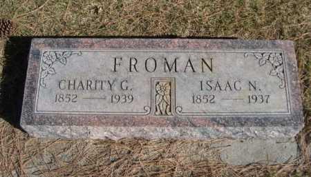 FROMAN, CHARITY G. - Dawes County, Nebraska | CHARITY G. FROMAN - Nebraska Gravestone Photos
