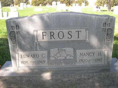 FROST, EDWARD C. - Dawes County, Nebraska | EDWARD C. FROST - Nebraska Gravestone Photos