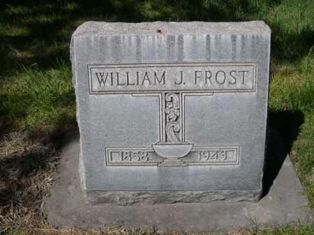 FROST, WILLIAM J. - Dawes County, Nebraska | WILLIAM J. FROST - Nebraska Gravestone Photos