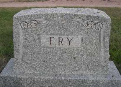 FRY, FAMILY - Dawes County, Nebraska   FAMILY FRY - Nebraska Gravestone Photos