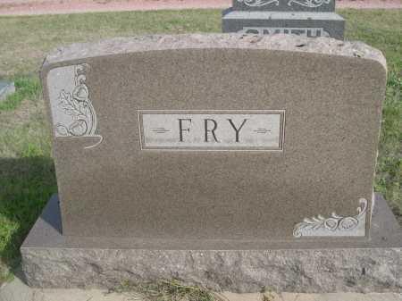 FRY, FAMILY - Dawes County, Nebraska | FAMILY FRY - Nebraska Gravestone Photos