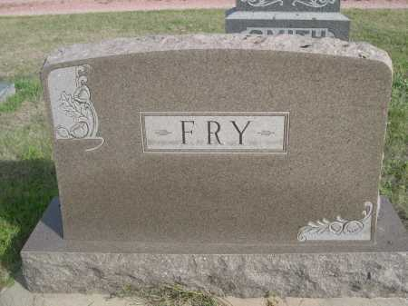 FRY, FAMILY - Dawes County, Nebraska | FAMILY FRY - Nebraska Gravestone Photos