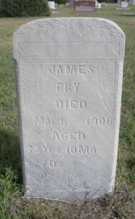 FRY, JAMES - Dawes County, Nebraska | JAMES FRY - Nebraska Gravestone Photos