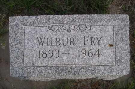 FRY, WILBUR - Dawes County, Nebraska | WILBUR FRY - Nebraska Gravestone Photos