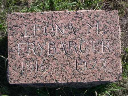 FRYBARGER, LEONA M. - Dawes County, Nebraska | LEONA M. FRYBARGER - Nebraska Gravestone Photos