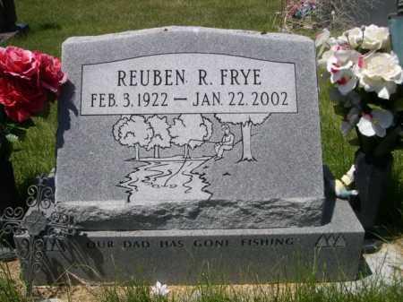 FRYE, REUBEN R. - Dawes County, Nebraska   REUBEN R. FRYE - Nebraska Gravestone Photos