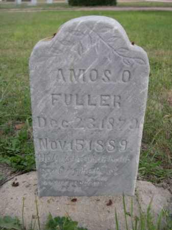 FULLER, AMOS O. - Dawes County, Nebraska | AMOS O. FULLER - Nebraska Gravestone Photos