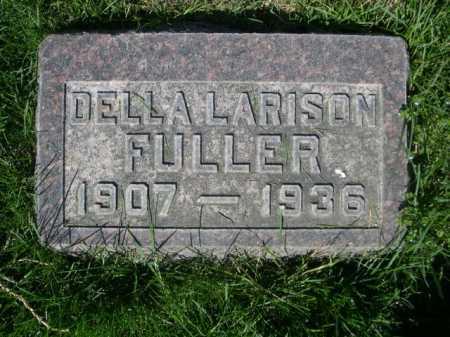 LARISON FULLER, DELLA - Dawes County, Nebraska   DELLA LARISON FULLER - Nebraska Gravestone Photos