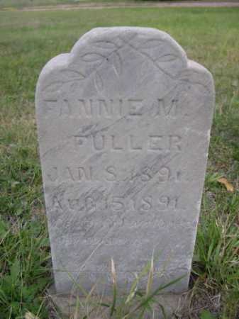 FULLER, FANNIE M - Dawes County, Nebraska | FANNIE M FULLER - Nebraska Gravestone Photos