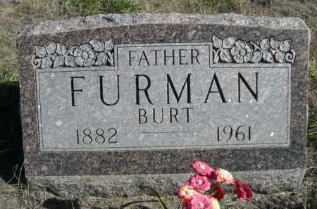 FURMAN, BURT - Dawes County, Nebraska | BURT FURMAN - Nebraska Gravestone Photos