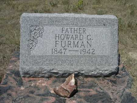 FURMAN, HOWARD G. - Dawes County, Nebraska | HOWARD G. FURMAN - Nebraska Gravestone Photos