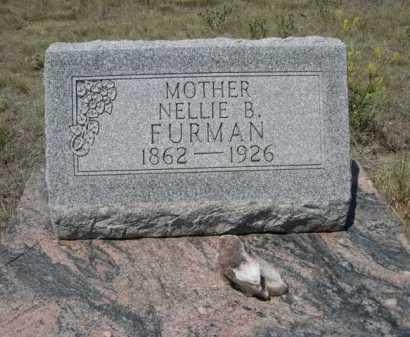 FURMAN, NELLIE B. - Dawes County, Nebraska | NELLIE B. FURMAN - Nebraska Gravestone Photos