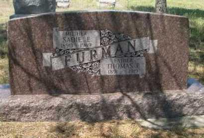 FURMAN, THOMAS P. - Dawes County, Nebraska | THOMAS P. FURMAN - Nebraska Gravestone Photos