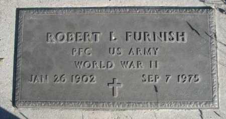 FURNISH, ROBERT L. - Dawes County, Nebraska | ROBERT L. FURNISH - Nebraska Gravestone Photos