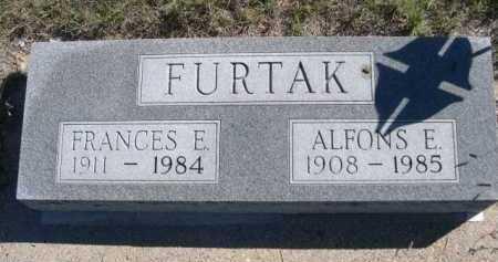 FURTAK, FRANCES E. - Dawes County, Nebraska   FRANCES E. FURTAK - Nebraska Gravestone Photos