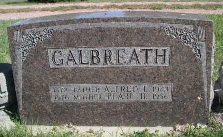 GALBREATH, ALFRED L. - Dawes County, Nebraska | ALFRED L. GALBREATH - Nebraska Gravestone Photos