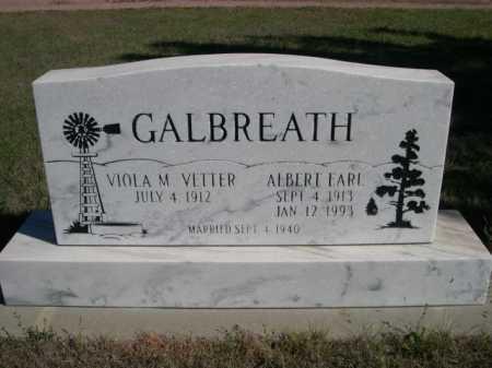 VETTER GALBREATH, VIOLA M. - Dawes County, Nebraska | VIOLA M. VETTER GALBREATH - Nebraska Gravestone Photos