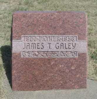 GALEY, JAMES T. - Dawes County, Nebraska | JAMES T. GALEY - Nebraska Gravestone Photos